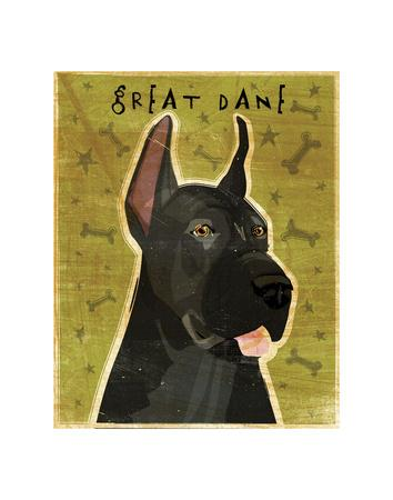 Home Decor Poster 11x14 Great Dane GiftsArt Print from PaintingWall Art