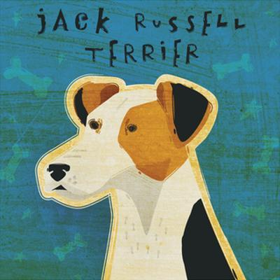 Jack Russell Terrier (square) by John W^ Golden