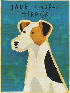Jack Russell Terrier by John W Golden
