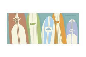 Longboards 02 by John W Golden