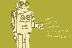 Lunastrella Robot No. 1 by John W Golden