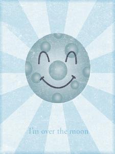 Moon II by John W Golden