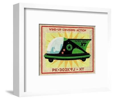 Patrol Craft XT Box Art Tin Toy
