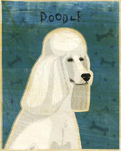Poodle (white) by John W^ Golden