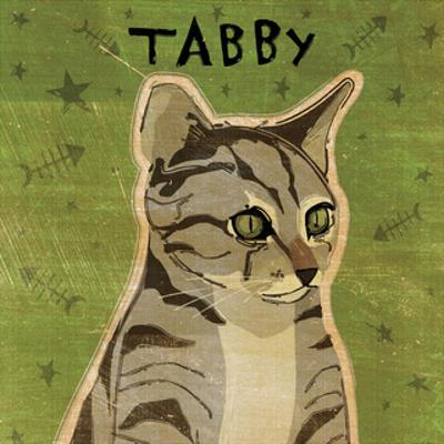 Tabby (grey) (square) by John W^ Golden