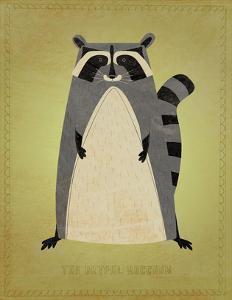 The Artful Raccoon by John W^ Golden