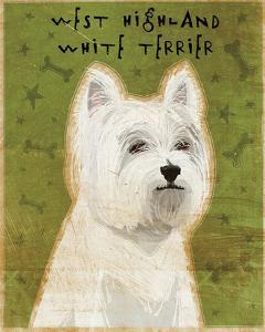 West Highland White Terrier by John W^ Golden