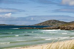 Uk, Scotland, Outer Hebrides, Harris. Ceilebost Beach by John Warburton-lee