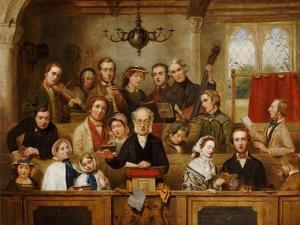 The Village Choir by John Watkins Chapman