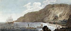 A View of Karakakooa in Owyhee, 1785 by John Webber