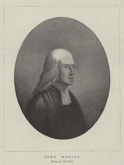John Wesley--Giclee Print