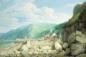 Clovelly, Devon by John White Abbott