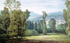 Dulverton, Somerset, 1800 by John White Abbott