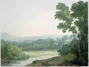 Near Washfield, Devon by John White Abbott