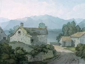 On Ullswater, Cumberland, 1791 by John White Abbott