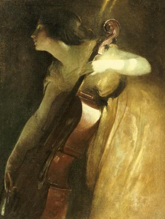 A Ray of Sunlight (The Cellist), 1898