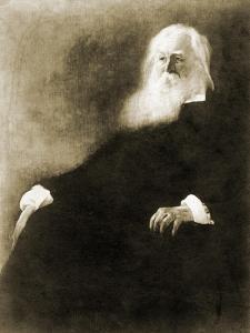 WHITMAN Walt Portrait by by John White Alexander
