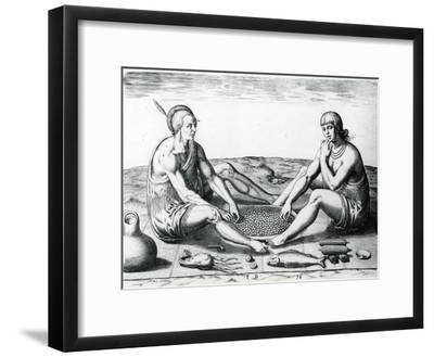 Their Sitting at Meat, 1590