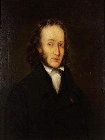 Portrait of Niccolò Paganini (1782-184), 1836
