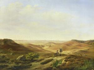 Landscape, 1835 by John Wilhelm David Bantelmann