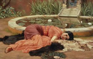 Dolce Far Niente, 1904 by John William Godward