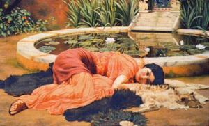 Dolce Far Niente, c.1904 by John William Godward
