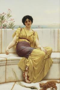 Idleness, 1900 by John William Godward