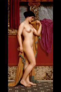 In the Tepidarium by John William Godward
