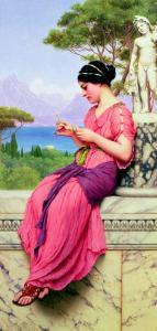 Le Billet Doux, 1913 by John William Godward