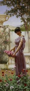 The Flowers of Venus, 1890 by John William Godward