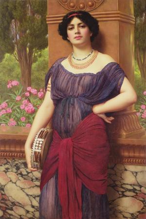 The Tambourine Girl, 1906