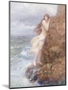 Winding the Skein by John William Godward
