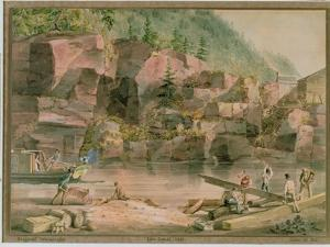 Erie Canal, Ny, 1831 by John William Hill