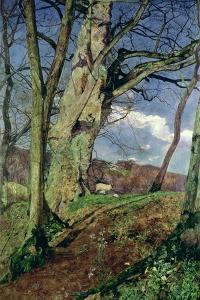 In Early Spring: a Study in March by John William Inchbold