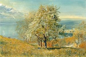 The Lake of Geneva, C.1880-1882 by John William Inchbold