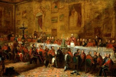 The Waterloo Banquet, 1836 by John William Salter