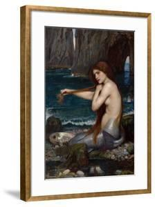 A Mermaid, 1900 by John William Waterhouse