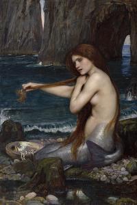 A Mermaid by John William Waterhouse