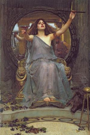 Circe Offering the Cup to Ulysses, 1891