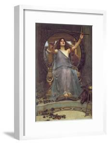 Circe Offering the Cup to Ulysses, 1891 by John William Waterhouse