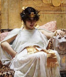 Cleopatra, C.1887 by John William Waterhouse