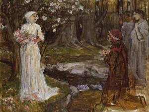 Dante and Beatrice by John William Waterhouse