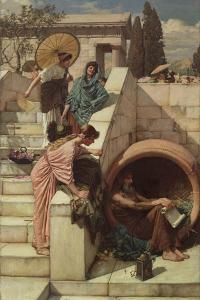 Diogenes. 1882 by John William Waterhouse