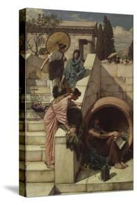 Diogenes (D.C.320 BC), 1882 by John William Waterhouse