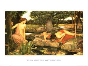 Echo and Narcissus, c.1903 by John William Waterhouse