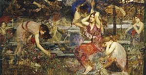 Flora and the Zephyrs by John William Waterhouse