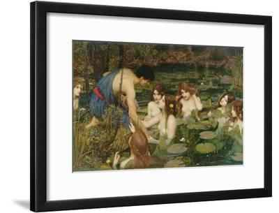 Hylas and the Nymphs, 1896