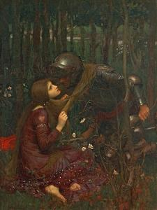 La Belle Dame Sans Merci, 1893 by John William Waterhouse
