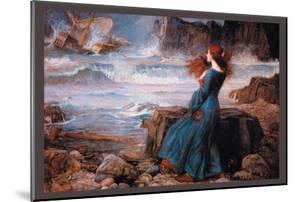 Miranda and the Tempest by John William Waterhouse