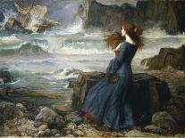 A Mermaid-John William Waterhouse-Art Print